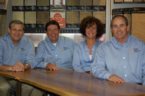 The staff of Basye's Abbey Carpet & Floor